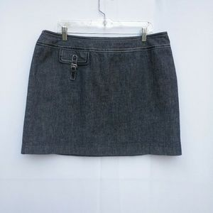 Michael Michael Kors Denim Skirt